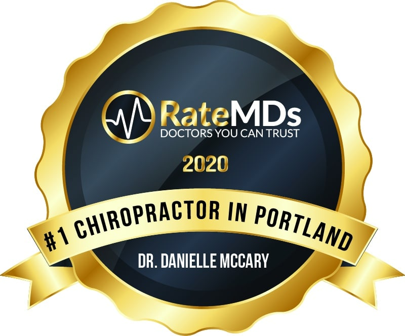 DR. DANIELLE MCCARY #1 Chiropractor in portland