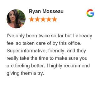 Ryan Mosseau Review