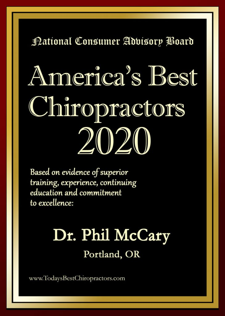 America's Best Chiropractor - Dr. Phil McCary DC