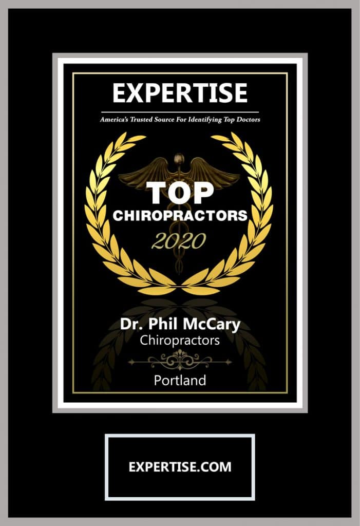 Expertise Top Chiropractor 2020 Portland Dr. Phil McCary DC