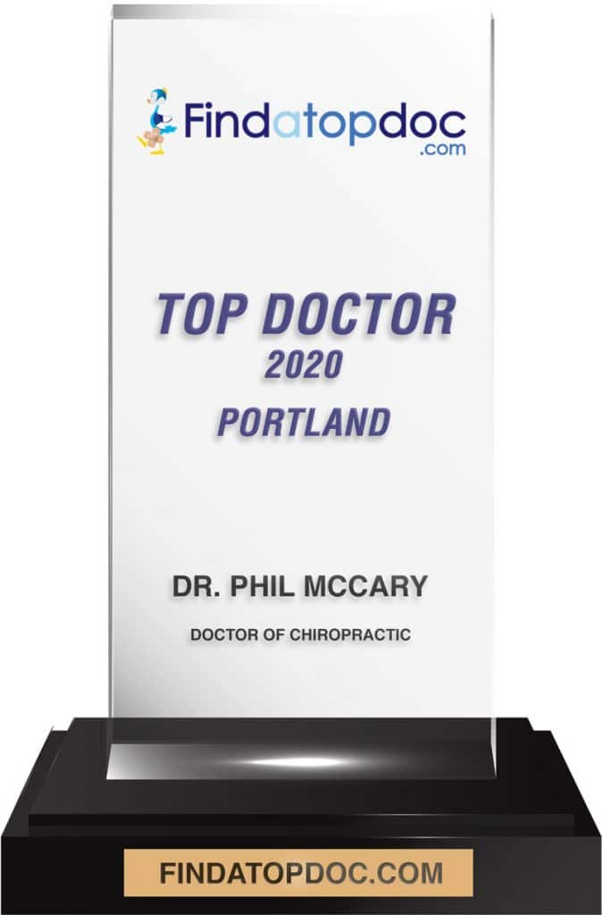 FindATopDoc.com awarded Dr. Phil as a Top Chiropractor in Portland, OR
