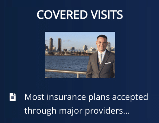 covered visits from insurance