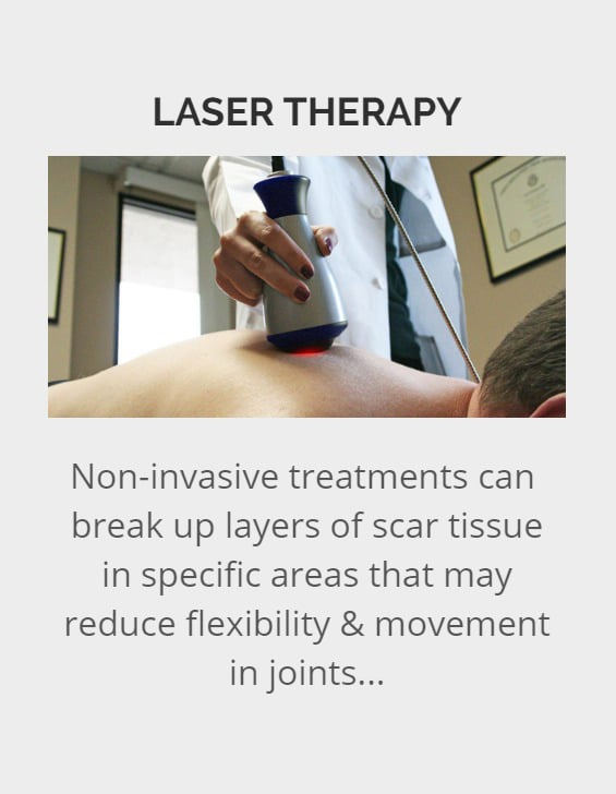 Laser therapy in Portland